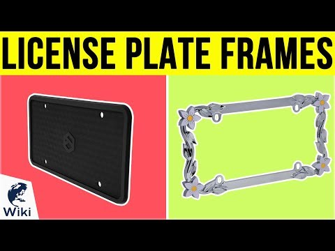 10 Best License Plate Frames 2019 - UCXAHpX2xDhmjqtA-ANgsGmw