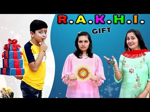 RAKHI GIFT   Rakshabandhan Special   Moral Story on Rakhi   Brother and sister   Aayu and Pihu Show