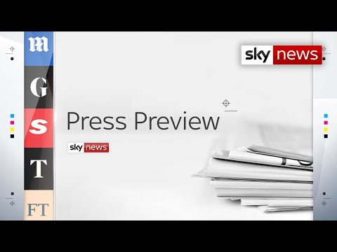 In Full: Press Preview - A first look inside Wednesday's newspapers