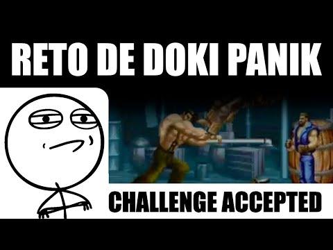 Reto de Doki Panik - 160.000 puntos Stage 1 de Final Fight (Arcade)