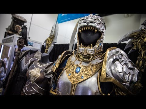 Ghost in the Shell and Warcraft Props from Weta Workshop! - UCiDJtJKMICpb9B1qf7qjEOA