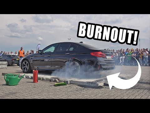 780HP BMW M5 F90 STAGE 2 BURNOUT MADNESS!