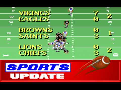NFL Football (Week 6: Seahawks - Raiders) (Distinctive Software) (MS-DOS) [1992] [PC Longplay]