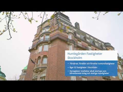 """""""Talande hissar"""" hos Humlegården Fastigheter i Stockholm"""