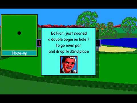 PGA Tour Golf (FedEx St Jude Classic at TPC Southwind) (Sterling Silver) (MS-DOS) [1991] PC Longplay
