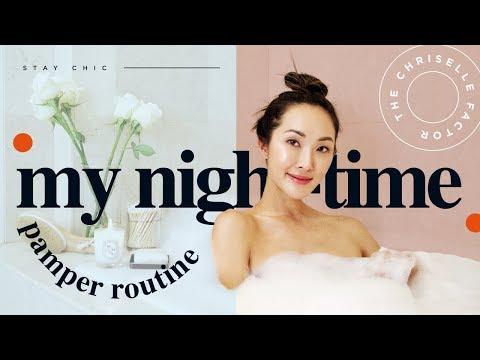 My Night Time Pamper Routine | Chriselle Lim - UCZpNX5RWFt1lx_pYMVq8-9g