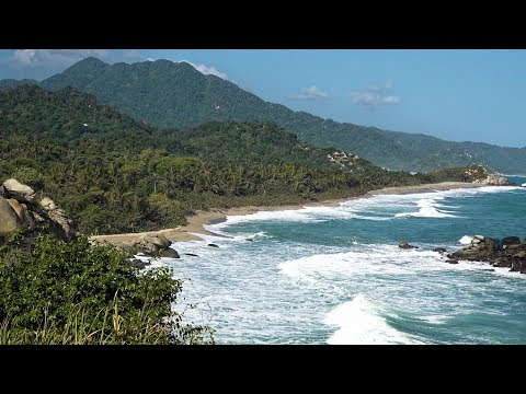 Tayrona National Park, Colombia in 4K Ultra HD
