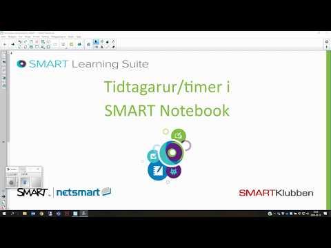 Timer - Tidtagarur i SMART Notebook