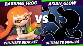 Smash Ultimate Tournament - Barking_Frog (Inkling Palutena) Vs Asian_Glow (Mr G&W) S@X 316 Winners 4