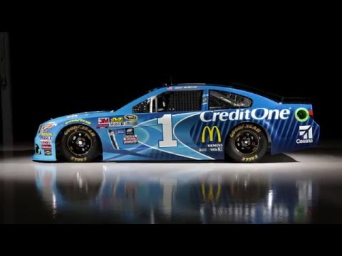 Jamie McMurray - 2016 #1 Credit One Bank Chevrolet SS - Time-Lapse, Close-Ups, and Drone Footage
