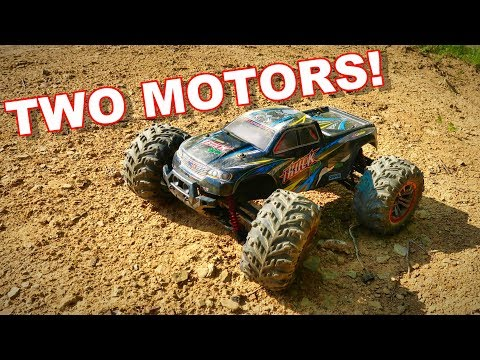 Dual Motor RC Truck - XinLeHong Toys 9125 1/10th 4WD - TheRcSaylors - UCYWhRC3xtD_acDIZdr53huA