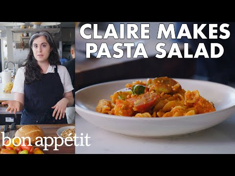 Claire Makes Pasta Salad With Romesco From The Test