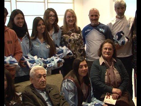 Alicia recibió a la delegación de jóvenes que visitó las Islas Malvinas