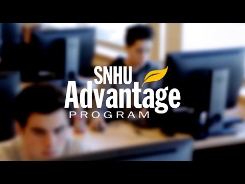 SNHU Advantage Offers Traditional College Courses in a Supportive Environment
