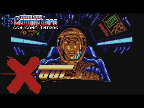 C64 Game Intro: X Out (Rainbow Arts,1989)