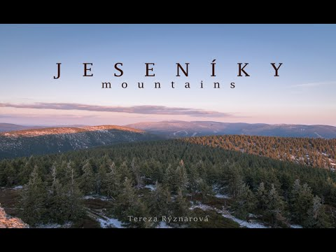 The year with Jeseníky mountains / TIMELAPSE