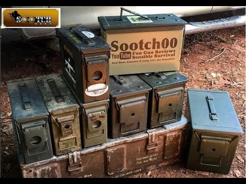 Why Buy Ammo Cans? 25 Survival Uses