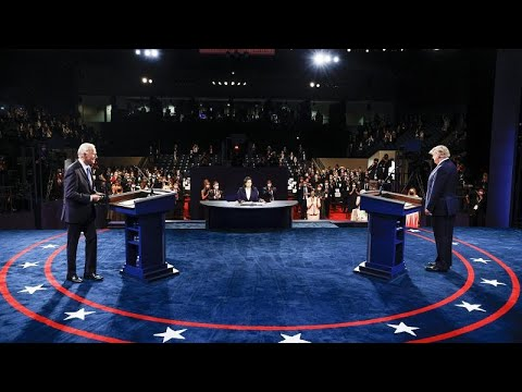 DEBATE | Disciplinado CHOQUE FRONTAL entre Joe BIDEN y Donald TRUMP