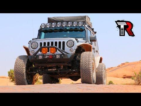 Hell's Revenge Trail - Utah to Colorado Off-road Adventure