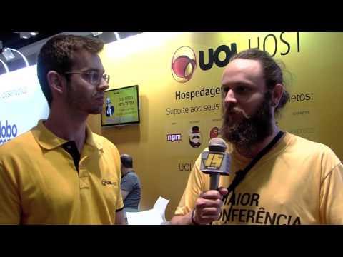 Entrevista BrazilJS 2016 - UOL