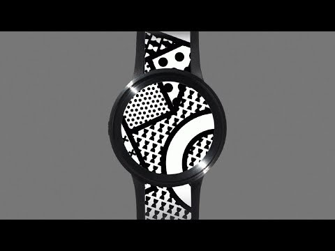 Sony's new watch changes its pattern at the touch of a button | Technology | Dezeen