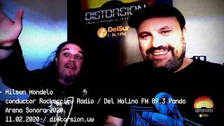 La visita de Wilson Mondelo de Rockercity Radio a Distorsiòn (11.02.2020)