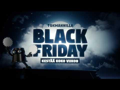 Tokmannilla Black Friday kestää koko viikon -  koristevalot
