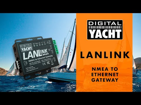 LANLink - NMEA to Ethernet Gateway - Digital Yacht