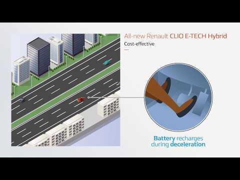 E-TECH -Hybridmotor: Spara med upp till 40 % lägre bränsleförbrukning