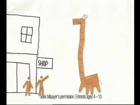 Elastoplast - The Escaped Giraffe