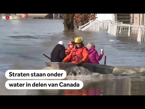 CANADA: Honderden mensen geëvacueerd na overstromingen