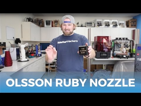 Olsson Ruby 3D Nozzle // Product Highlights & Information