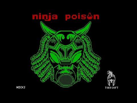 NINJA POISON ZX SPECTRUM