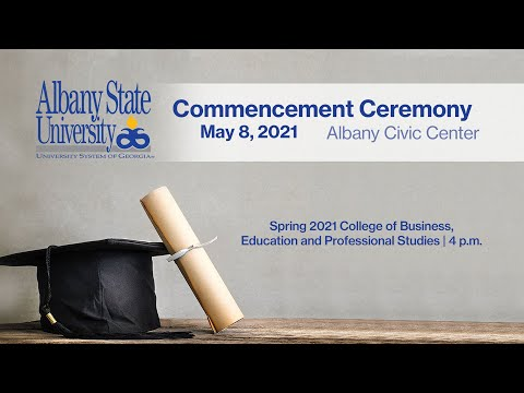 College of Business, Education and Professional Studies Commencement Ceremony