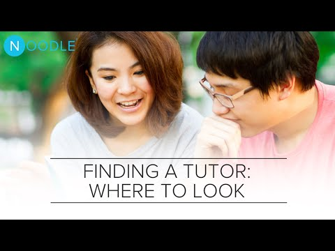 Find a Great Tutor: Where Should You Look For One? | Noodle
