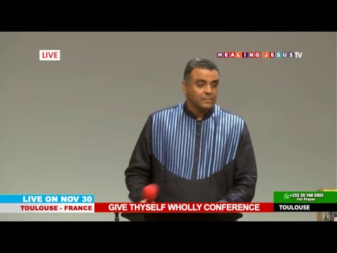 WATCH THE GIVE THYSELF WHOLLY CONFERENCE, LIVE FROM TOULOUSE - FRANCE. DAY 3 SESSION 2.