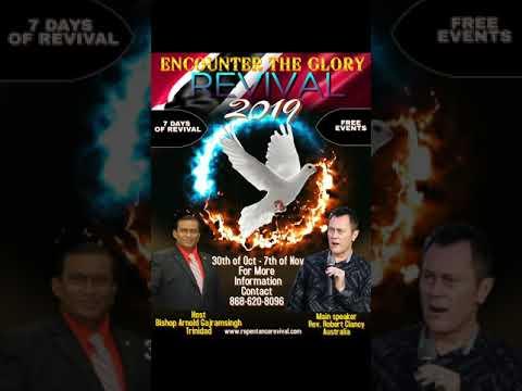 7 DAYS OF REVIVAL TRINIDAD & TOBAGO OCTOBER 30th OCTOBER ONWARDS