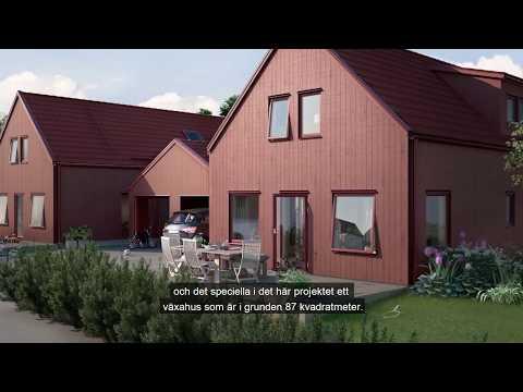 Nordlyckan i Varberg där samtida arkitektur möter lantligt med bykänsla