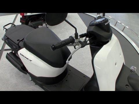 Honda Benly Scooter Features a 10L Tank #DigInfo - default