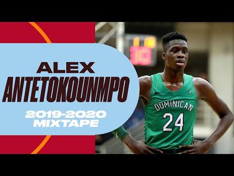 Alex Antetokounmpo Senior Season Mixtape - The Youngest Antetokounmpo Brother Put on a Show!