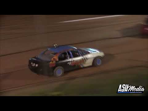 Modified Sedans: Carlin Charges from the Back of the Field - Albany Speedway - dirt track racing video image