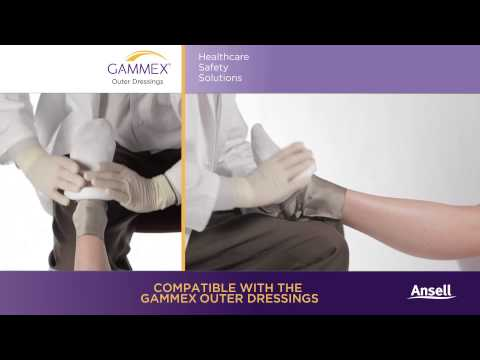 Ansell - GAMMEX Silver Barrier Dressing - Foot
