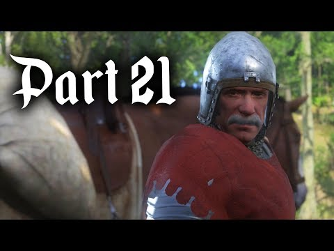CHASING A KNIGHT - Kingdom Come Deliverance Gameplay Walkthrough Part 21 - ALL THAT GLISTERS