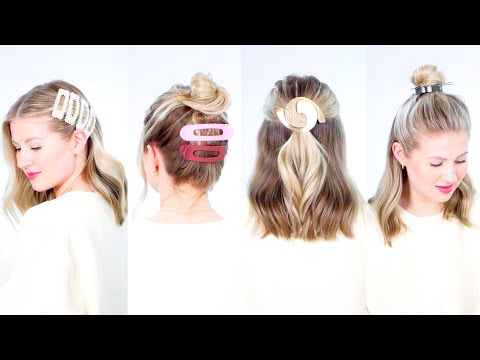 OVERSIZED & OBNOXIOUS Hair Accessories | How To Style