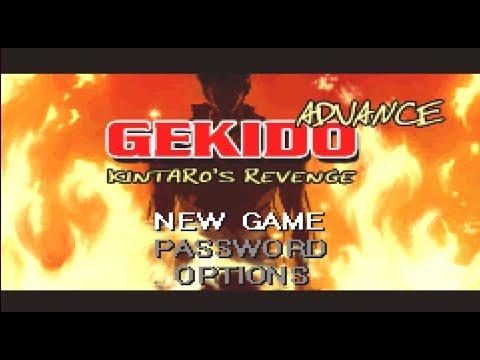 GEKIDO ADVANCE: KINTARO´S REVENGE Game Boy Advance