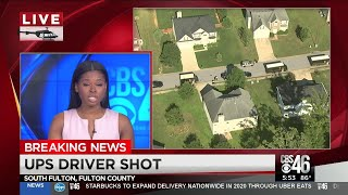 UPS driver shot while delivering packages in S.Fulton