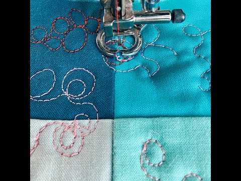 Learn Free Motion Quilting