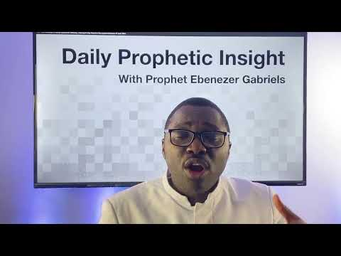The Fragrance From His Presence - Prophetic Insight - Dec 21st, 2020