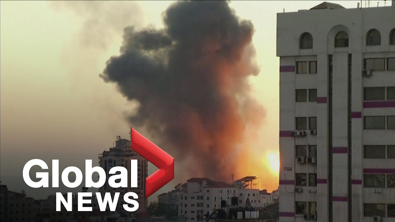 Israeli ordinance pummels Gaza City, forcing people from their homes