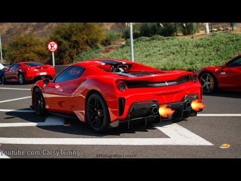 #Ferrarifriday Ferrari 488 Pista Spider - Antes y Despues con escapes Novitec!